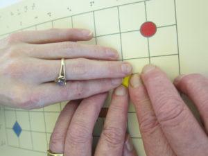 exploring a tactile grid